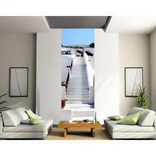 Papier peint Lé unique Escalier Blanc 2101