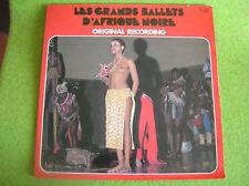 LP LES GRANDS BALLETS D'AFRIQUE NOIRE-ORIGINAL RECORD