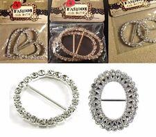 FASHION TID BITS Wearable Art RHINESTONE BUCKLES - Various Styles