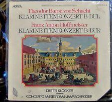 Schacht/Hoffmeister/Klocker/Schroder  Klarinettenkonzerts     Acanta