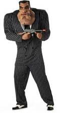 Adult Men Massive Mobster Halloween Costume