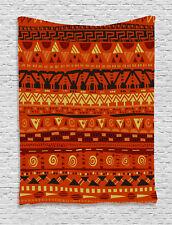 Tribal Tapestry African Geometric Art Print Wall Hanging Decor