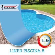 Ricambio liner per piscina a forma di otto 920x600 h150 cm anche Zodiac
