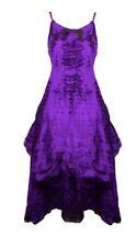 gothique steampunk victorien robe Rebekka PLISSÉ 36 38 petit 40 noir violet