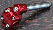 Red Alloy 22.2mm Old School BMX Bike 4 Bolt Quill Stem Cruiser Bicycle Suntour