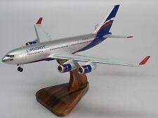 IL-96 ILyushin Aeroflot IL96 Airplane Wood Model Big New