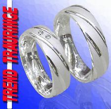 2 Trend Trauringe Verlobungsringe Silber & Gravur Gratis T64-21