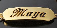 Namensarmband 'Maya' 18K Gold Beschichtet | Valentinstag Geschenke für sie