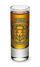 2 Ounces Shooter Shot Glass Firefighter Irish Heritage