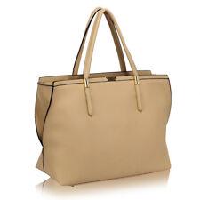 0277-Beige Tote Bag