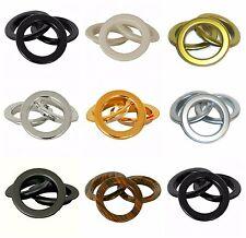 anneaux de broderie anglaise,circulaire rideau,couleur au choix & quantité,Art