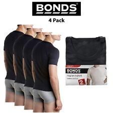 Mens Bonds Original Raglan Crew Neck 4 Pack Tee T-Shirt Short Sleeve Top M9372W