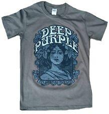 Rare Unworn Official Deep Purple Woman's Flower Power Rock Star T-Shirt