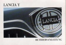 stark gebrauchte Betriebsanleitung LANCIA Y  Handbuch Ausgabe 1996