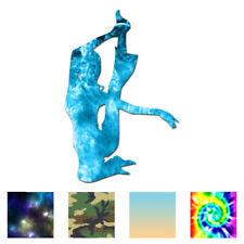 Yoga Stretch - Vinyl Decal Sticker - Multiple Patterns & Sizes - ebn1154