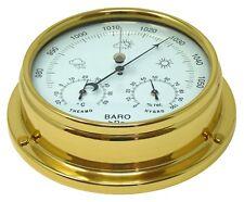 Tabic Solid Brass Barometer Wieghs (1/2kg), Handmade in England