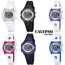 Calypso Reloj de Mujer Cuarzo Plástico con Banda Pu Alarm-Chron Digital Todos