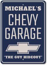 Chevy Garage Gift, Chevy Garage Sign, Chevy Logo Sign ENSA1002696