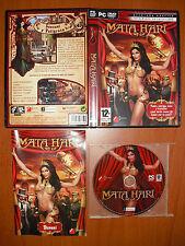 Mata Hari [PC DVD-ROM] Aventura Gráfica, Versión Española, COMPLETO Y COMO NUEVO