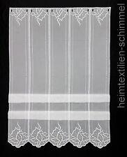 Clip Panneaux Scheibengardine Gardine Scheibenhänger Raffrollo weiß B 0,31-1,90