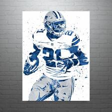 Ezekiel Elliott Dallas Cowboys Poster FREE US SHIPPING