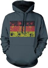 Germany Flag Spatter Design Bundesrepublik Deutschland Pride Hoodie Pullover