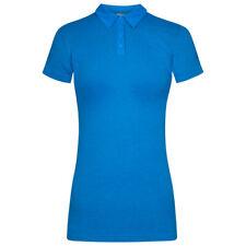 adidas Aerok Damen Tennis Polo-Shirt Polo-Hemd Oberteil Shirt AJ9272 blau neu