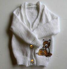 Disney's Bambi cardigan en mailles baby (nouveau) choix de tailles et couleurs