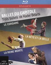 BALLET DU CAPITOLE: LE CORSAIRE/LA BÊTE ET LA BELLE/LA REINE MORTE NEW BLU-RAY D