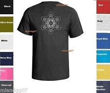 Sacred Geometry  Kabbalah Metatron T-Shirt Shirt  SIZES S-5XL