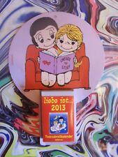 5.Hochzeitstag (2x) Kalenderblatt SEPT.- DEZ. 2013 - Geschenk HÖLZERNE HOCHZEIT