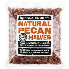 Gorilla Food Co. Natural Pecan Nut Halves - 100g-3.2kg (Great value £ per 1kg)