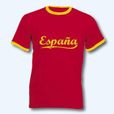 T-Shirt Retro-Shirt, WM Spanien Espana, Ringer T