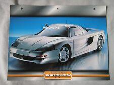 Mercedes C112 Dream Cars Card