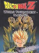 Dragon Ball Z World Tournament Blackout - DVD - Animated Color Ntsc USED GOOD!!