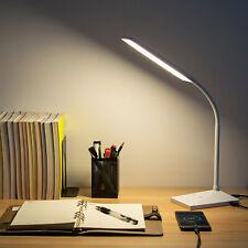 72 LED Touch Sensor Desk Lamp 5 Modes Table Light Eye-Caring Reading USB Port