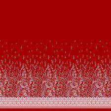 Soimoi Fabric Damask &  Leaves Panel Print Fabric by the Yard-PN-23E