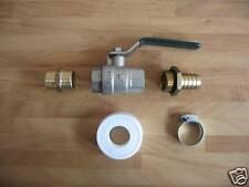 3/4 de pouce bsp eau / huile / réservoir de carburant vanne / Robinet Kit