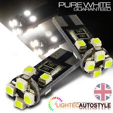 T10 Canbus 8 Smd coche bombillas LED libre de error Xenon Blanco W5w 501 lado Bombilla del Reino Unido
