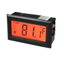 Celsius / Fahrenheit Digital Thermomètre Compteur de Température Jauge LED
