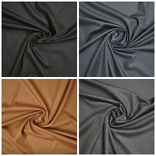 Mantel Anzug Stoff Edel Hochwertig 80% Schurwolle 20% Cashmere Kaschmir 4 Farben