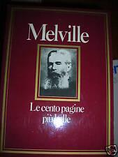 MELVILLE  LE CENTO PAGINE PIU BELLE   sc20