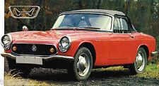 HONDA S800/S-800 SPEC SHEET/Brochure/Catalog:1968,1967,