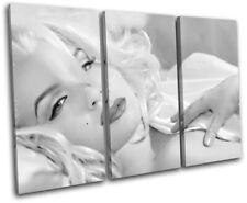Marylin Monroe Movie Greats TREBLE TOILE murale ART Photo Print