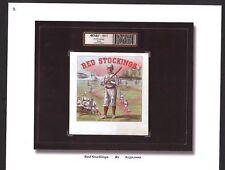 Vintage Boston Red Stockings - Baseball Fantastic Cigar Label Book - Red Sox