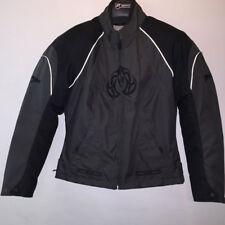 RK Sport 3040 Gris Femmes textile imperméable veste moto