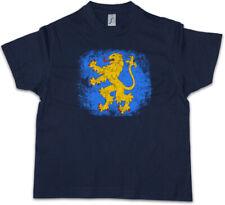 SHELDON APPARTMENT FLAG LION Kinder Jungen T-Shirt The Big Bang Nerd Theory TBBT