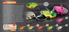 Rapture Chibi VibeSpin 22 Spinnerbait,Fishing Lure,Kunstköder,Forelle,Döbel,Bass