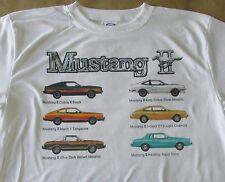 1978 Ford Mustang II Line Graphic T-shirt - Size Sm - 3XL - Sweet Summer Shirt