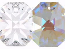 Swarovski Lily Octagon 8115 Crystal One Hole Glass Element Pendant Lighting